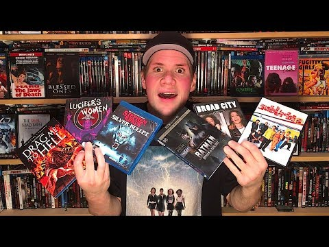 My Blu-ray Collection Update 2/3/18 : Blu ray and Dvd Movie Reviews