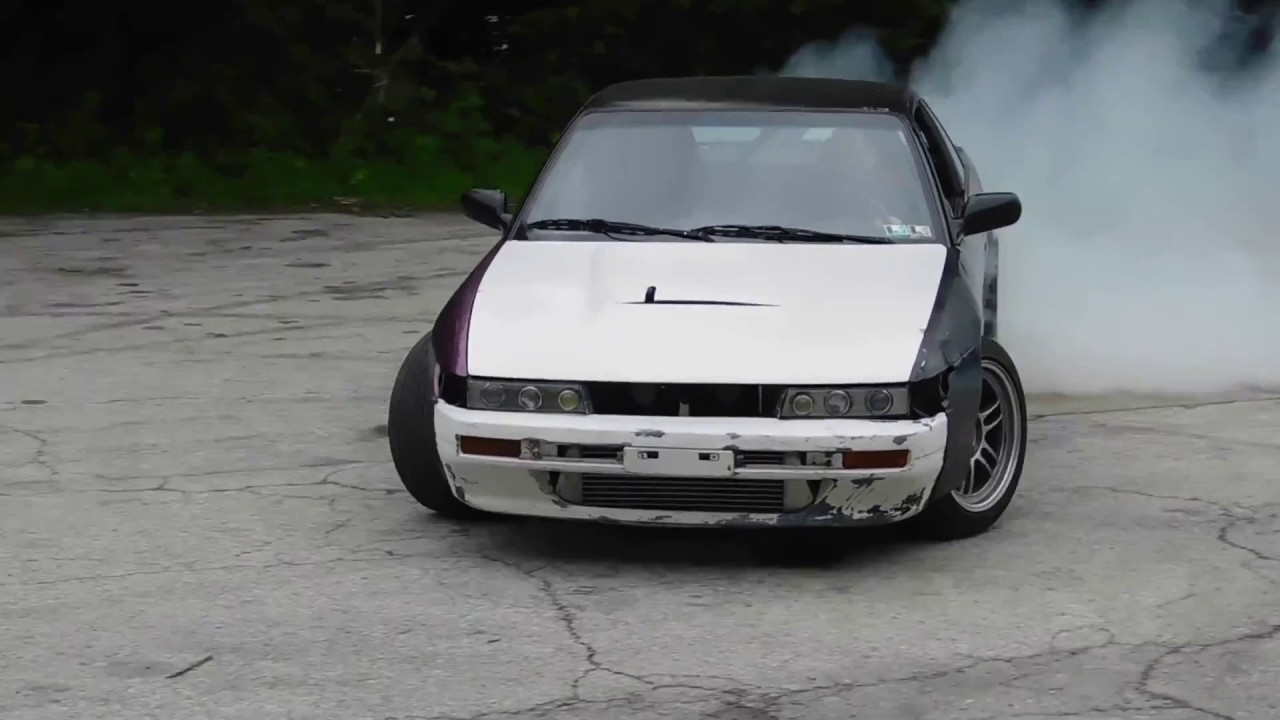 S13 Silvia GT2871r Drifting