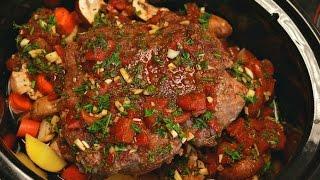 Beef Pot Roast Recipe - beef stew recipe - crock pot recipes - slow cooker stew