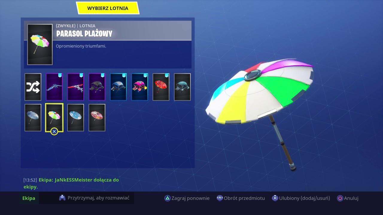 parasolka 5 sezon fortnite - fortnite parasol