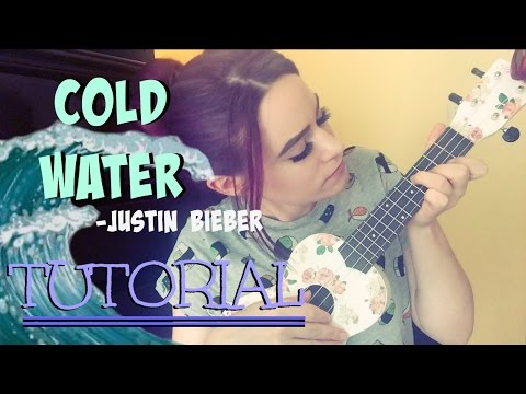 Cold Water - Major Lazer/Justin Bieber (Kelaska Ukulele TUTORIAL)