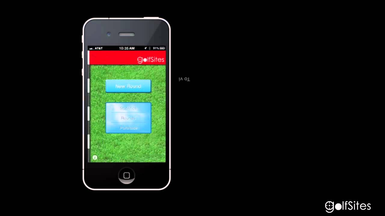 Golfsites Golf Gps Ball Tracking App For Iphone