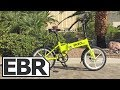 Enzo EBike Folding Electric Bicycle – 7 Speed – Lithium Ion – Variable Assist (Black)