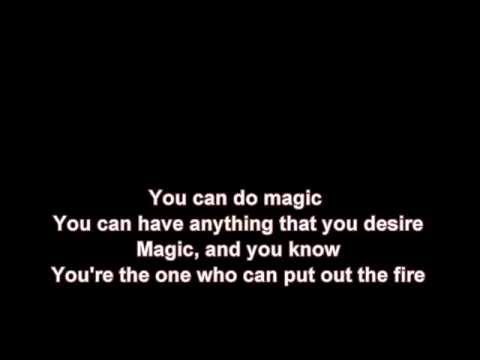 You Can Do Magic + America + Lyrics / HD