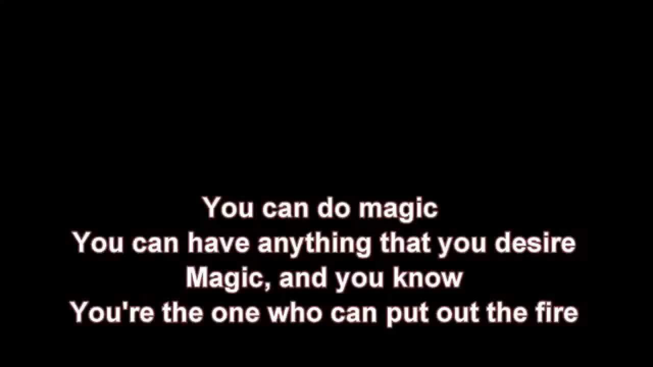 You can do magic music