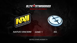 �������� ���� Big Game XBOCT! Na`Vi vs EG, SLTV StarSeries X Finals, Day 2, WB Game 1 ������