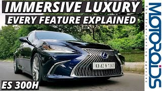 New Lexus ES 300h In-Depth India Review | Loaded With Luxury | Motoroids