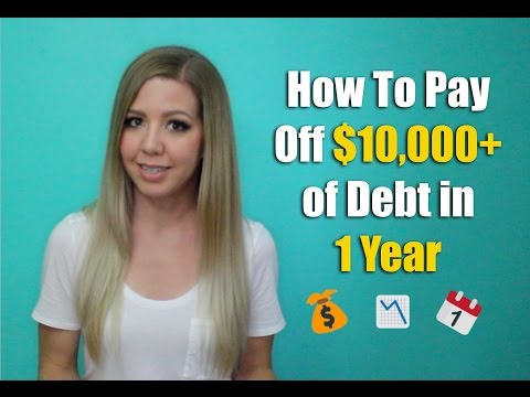 How To Pay Off Of Debt In Year