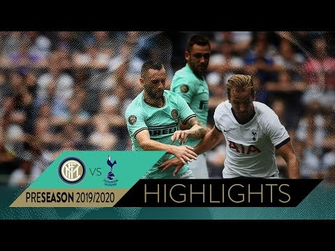 TOTTENHAM 1-1 INTER (3-4 pen) | HIGHLIGHTS | 2019 International Champions Cup