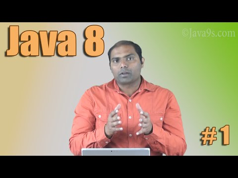 Java 8 Tutorial # 1 - An Introduction to Java 8 Features