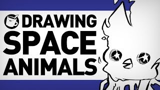 Drawing Space Animals