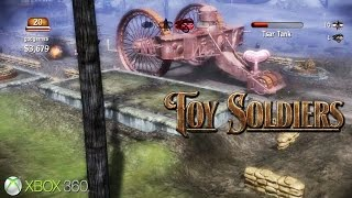 Toy Soldiers - Xbox 360 / XBLA Gameplay (2010)