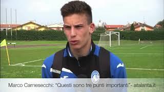 """Primavera, atalanta-roma 2-0, marco carnesecchi: """"tre punti importanti"""""""