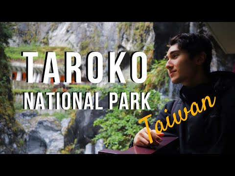 TAROKO NATIONAL PARK | Marble Canyons & Cavernous Waterfalls | Taiwan Travel Vlog