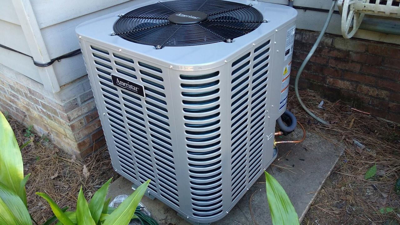 ameristar heat pump [ 1280 x 720 Pixel ]
