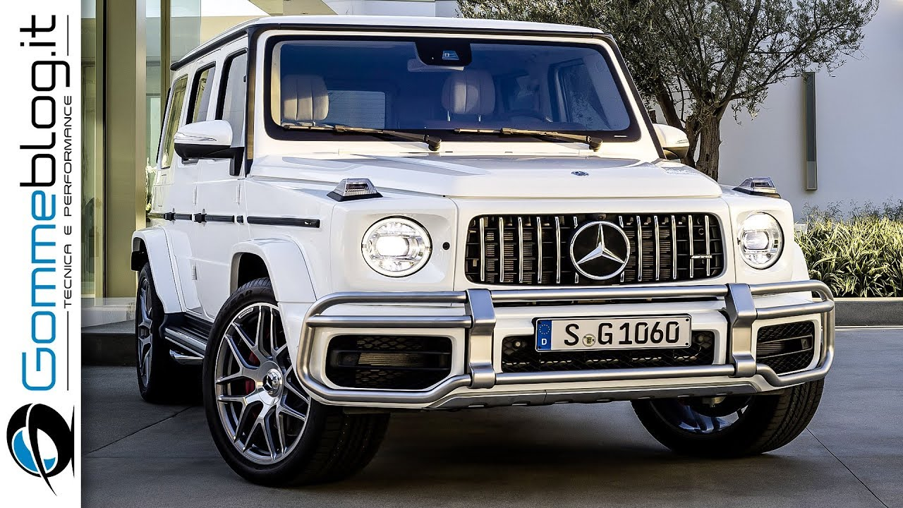 2018 mercedes-benz g63 amg 585 hp - high performance g-class is back