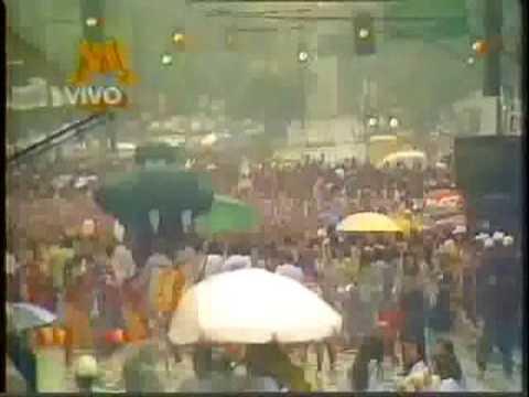 BLOCO CASCAVEL - DESFILE 1993 AO VIVO REDE MANCHETE - PARTE 1