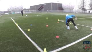 Torwarttraining am Deutschen Fußball Internat