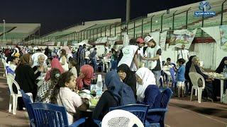 ملعب مصطفى تشاكر بالبليدة يحتضن عملية افطارأزيد من 1600 يتيم