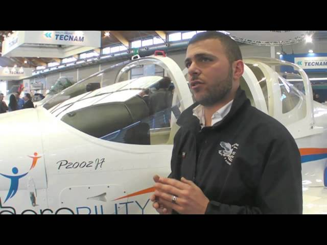 Tecnam's Aircraft for Disabled Pilots