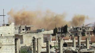 ضحايا مدنيون بقصف النظام على ريف حمص الشمالي وتعليق صلاة الجمعة