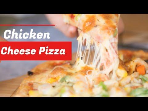 how-to-make-homemade-pizza-i-pizza-recipe-i-cheese-pizza-i-chicken-pizza-i-比萨-i-如何做比萨-i-美味的比萨-i意大利比萨