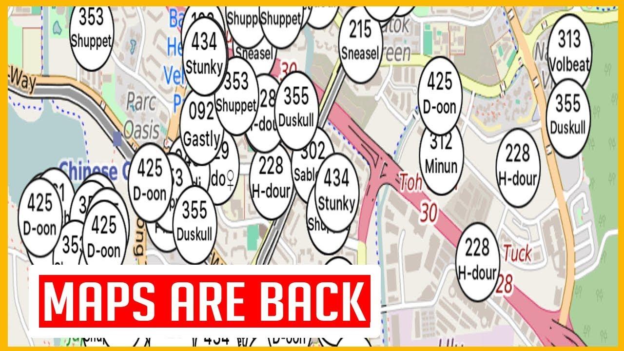 Pokemon go map odense | pokémap is an interactive pokemon
