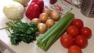 Боннский суп | Рецепт | Супер диета! | PolinaBond