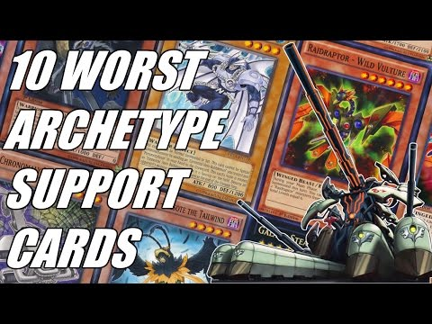 Yu-Gi-Oh - 10 Worst Archetype Support Cards ~ Anniversary Edition; feat. HardlegGaming