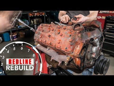 Ford Flathead V8 Engine Rebuild Time-Lapse   Redline Rebuild - S1E2