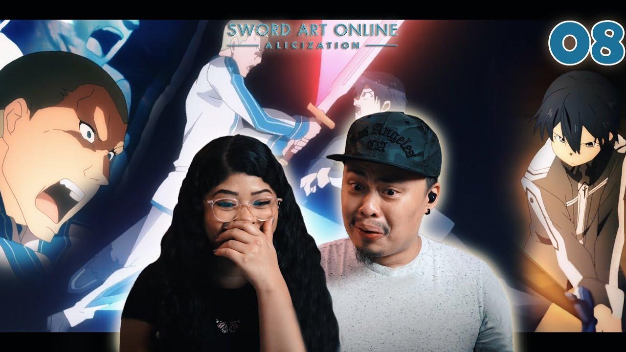 KIRITO VS VOLO LEVANTEIN! EPIC   Sword Art Online Season 3 Episode 8 Reaction