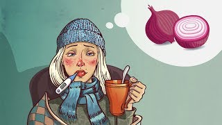 2 Home Remedies met Behulp van Uien Voor Verkoudheid, Griep en Verstopte Neus Die Echt Werken