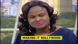 Kenyan Actress Shares Her Experience Producing A Movie In Nollywood
