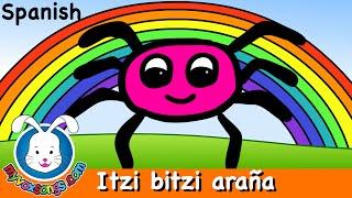 Itzi bitzi araña    música para niños