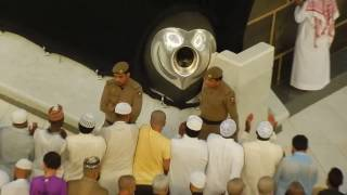 Subhanallah Emotional Beautiful Azan and Touching Hajr e Aswad in Makkah