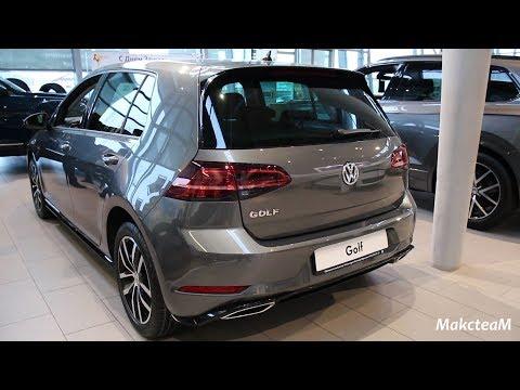 Volkswagen Golf - Trendline и R-Line - февраль 2019.