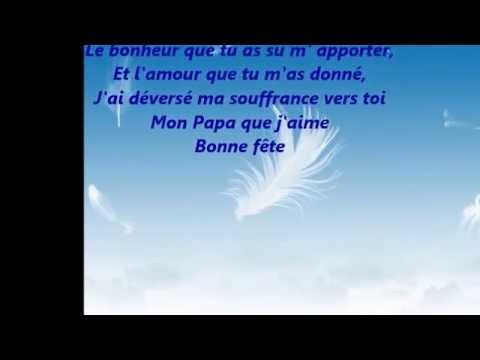 Poème Fête Des Père Mon Papa D Amour Youtube