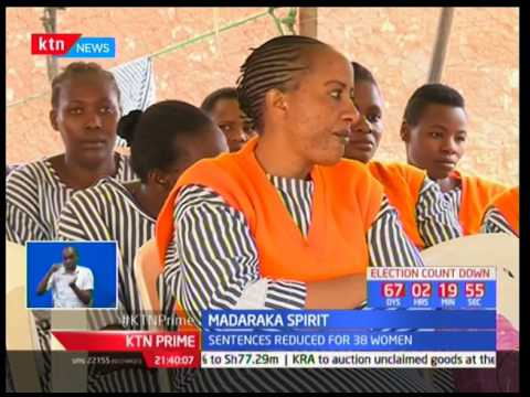 38 inmates from the Langata Women's Prison get pardoned by Deputy Chief Justice Philomena Mwilu