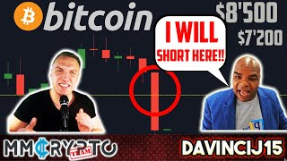 DavinciJ15 - Bitcoin CRASH!!  $8'500? $7'200?? WHAT to do??
