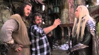Thranduil Scenes   THE HOBBIT   Behind The Scenes   B Roll