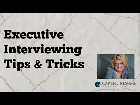 Executive Career Interviewing Tips: Appearing Confident to Win the Job