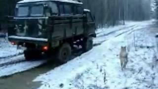 УАЗ-3303 лесовозка