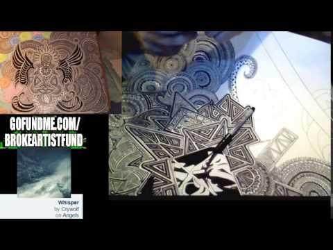 10,000 Lines #drawing #sketching #art #painting #calligraphy #mandala #sharpie