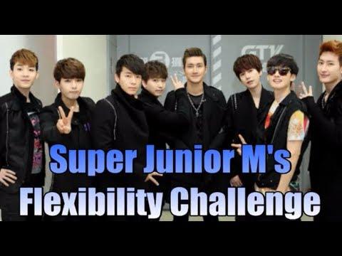 Super Junior M's witty flexibility challenge