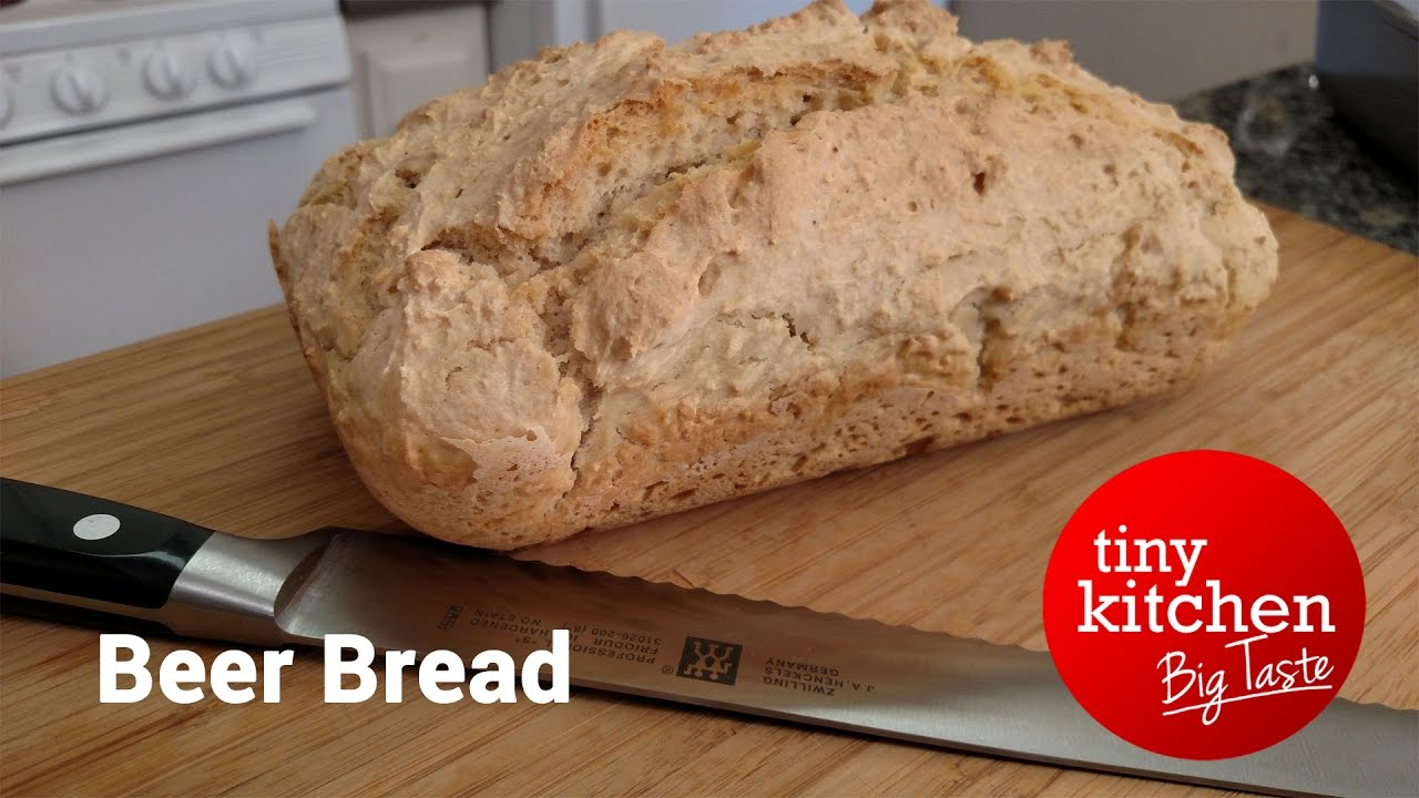 Perfect Beer Bread // Tiny Kitchen Big Taste