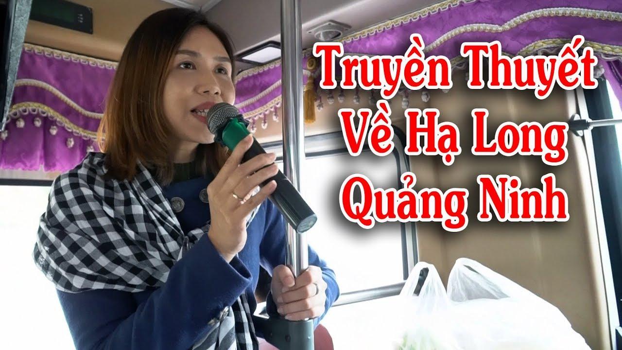 Hướng Dẫn Viên Du Lịch Thuyến Minh Về Truyền Thuyết Hạ Long Quảng Ninh  Vietnam Tours Cho Thuê Xe 45