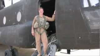 Female crew puts Boeing Chinooks to the test