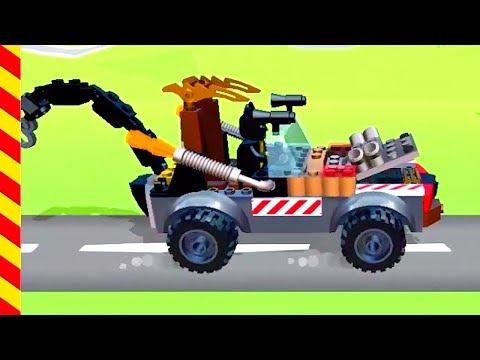 Строим лего машины для детей. Гоночные Машинки для бетмена. Игра про соревнования машин