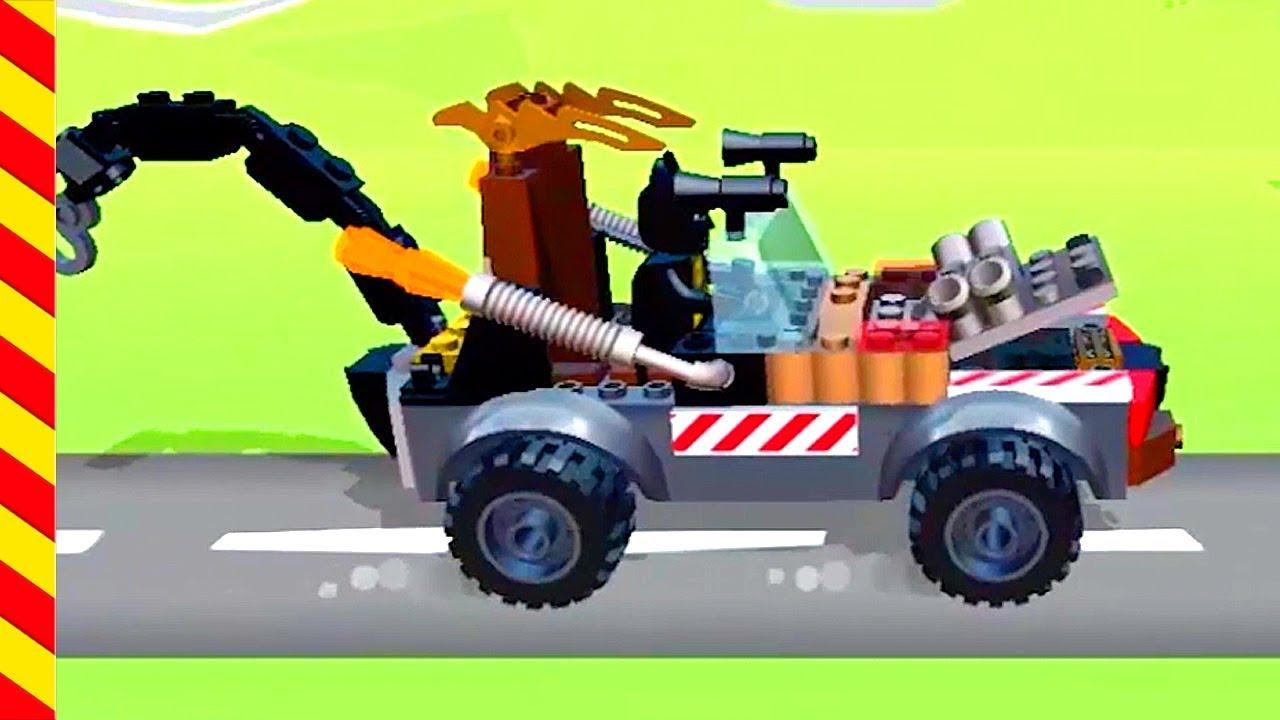 Строим лего машины для детей. Гоночные Машинки для бетмена ...
