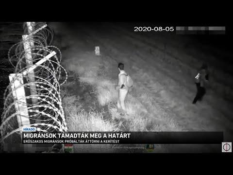 Migránsok támadták meg a határt thumbnail
